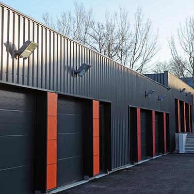 Construction d'un bâtiment d'activité de 9 lots destinés à la location.