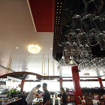 Aménagement intérieur d'un restaurant chinois COLOMIERS (31) Maîtrise d'ouvrage
