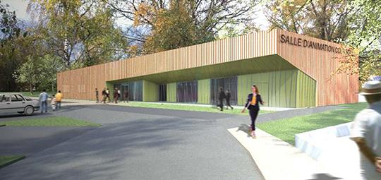 Construction d'une salle d'animation culturelle et associative CAMPAGNAC (12)