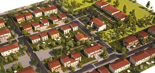 Réalisation d'un ensemble de logements SAINT-CLAR-DE-RIVIERE (31)